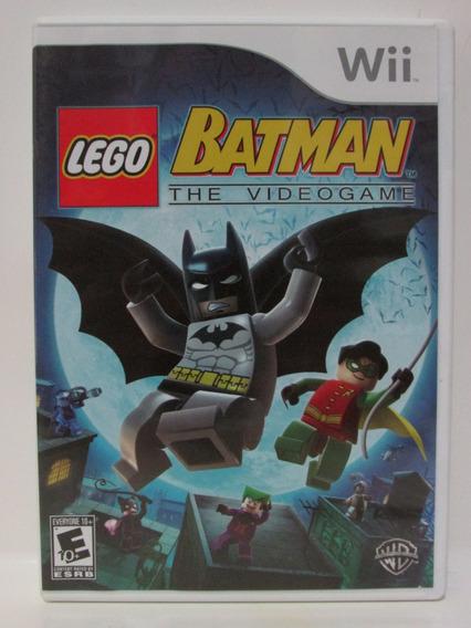 Wii: Lego Batman The Videogame Original Completo Americano