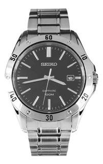 Reloj Seiko Sgeg55 P1 Sport Steel Black Dial Zafiro