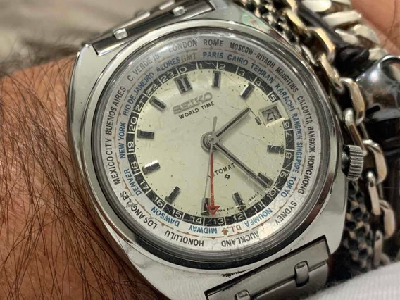 Seiko World Time 6117-6004 Automatic Japan