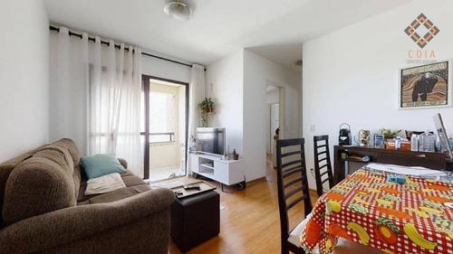 Apartamento Para Compra Com 2 Quartos E 2 Vagas Localizado Na Aclimação - Ap53515