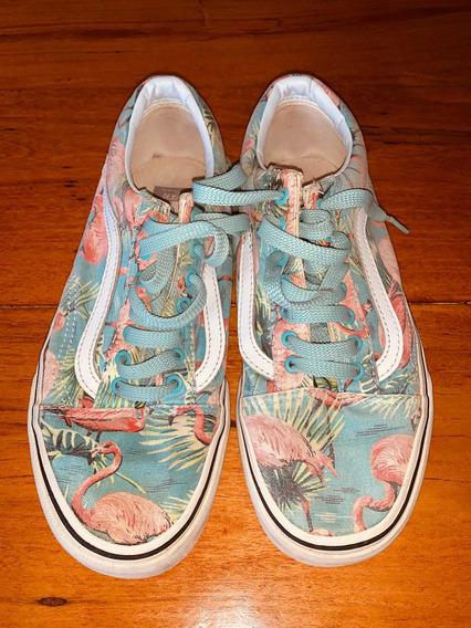 Zapatillas Vans N38 De Mujer Usadas