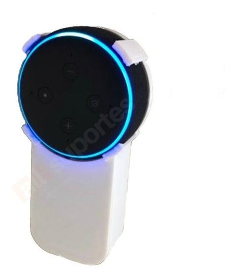 Suporte All-in-one Stand De Tomada Alexa Dot Echo 3 Geração