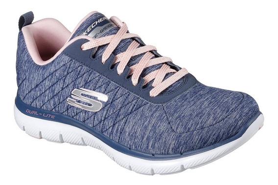 Zapatillas Skechers Flex Appeal 2.0 - Mujer - Running