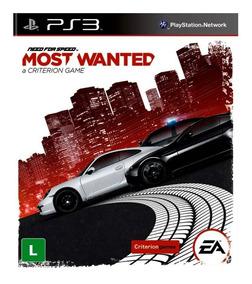 Jogo Digital De Ps3 Need For Speed Most Wanted Psn Receba Ja