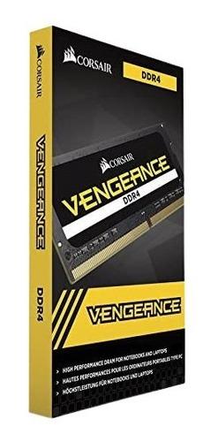 Imagem 1 de 3 de Memória De Notebook Corsair Vengeance Ddr4 2400mhz 16gb