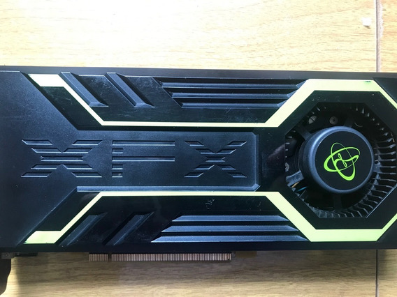 Placa De Video Xfx Geforce Gts250 1gb 256 Bits C/ Defeito