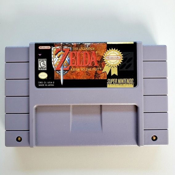 Legend Of Zelda A Link To The Past Original Snes