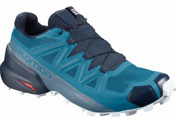 Salomon Zapatillas Hombre Trail Running Speedcross 5 Azul