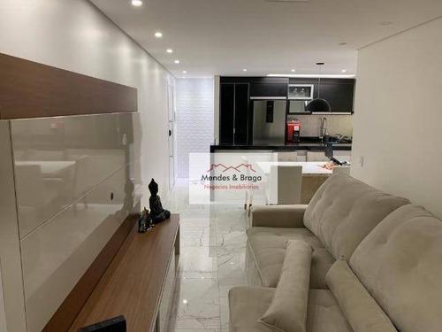 Imagem 1 de 10 de Residencial Flórida Apartamento Com 3 Dormitórios À Venda, 83 M² Por R$ 610.000 - Parque Renato Maia - Guarulhos/sp - Ap2226
