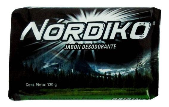 Jabón De Tocador Nordiko Desodorante 130 Grs.