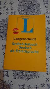 Langenscheidt Deutsch Als Fremdsprache - Dicionário Alemão