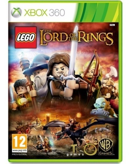 Game Xbox 360 Lego O Senhor Dos Anéis - Original - Novo