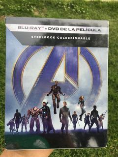 Marvel Avengers Endgame Steelbook Nueva Sellada Blu Ray