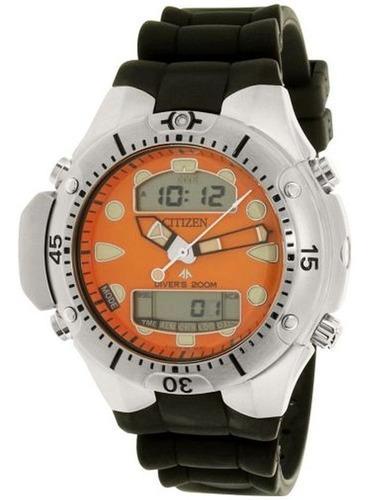Relógio Masculino Atlantis Estilo Aqualand Fundo Laranja