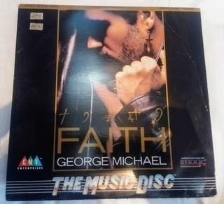 George Michael Faith Laserdisc