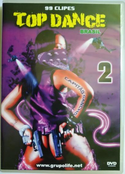 Dvd 99 Clipes Top Dance Brasil Vol. 2