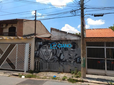 Terreno À Venda, 86 M² Por R$ 320.000 - Mooca - São Paulo/sp - Te0008