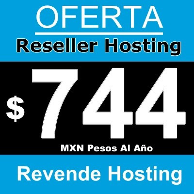 Hosting Reseller Anual 5 Gb Ssd Whm * Cpanel * 99%online