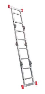 Escada Multifuncional De Alumínio 8 Degraus 4 X 2 Rotterman