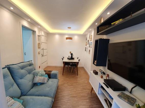 Apartamento À Venda 58m² - 2 Dorm. (1 Suíte) - Cond. Jardins Da Cidade - Taboão Da Serra - 895 - 67820017