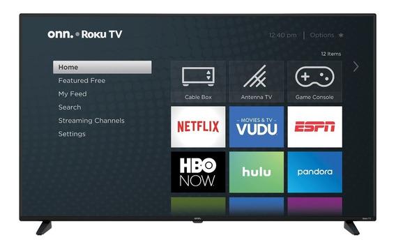 Onn. 58 Class 4k Ultra Hd (2160p) Hdr10 Roku Smart Led Tv