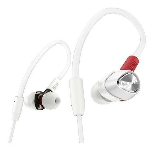 Fone De Ouvido Pioneer Dje2000w Branco/vermelho