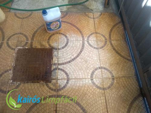 Limpa Pedras Flúor Alcalino Instantaneo Pisos Limpa Fácil