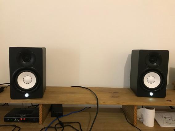 Monitores De Aúdio Yamaha Hs5 Ativo 220v Par - Nota Fiscal