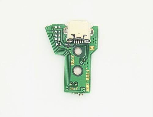Pin De Carga Placa Para  Joytistick Ps4 12 Pines Jds-055