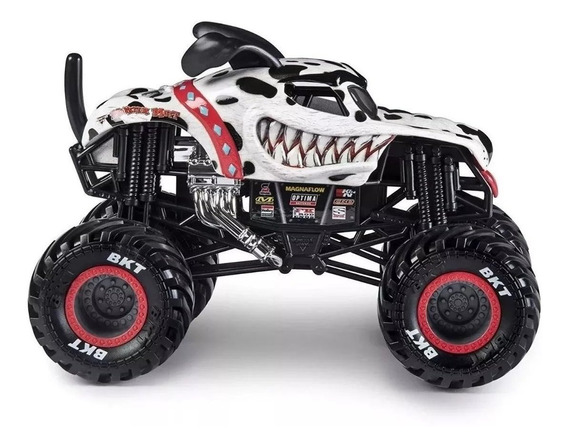 Monster Jam Vehiculo 16cm Metal 1:24 Original Tictoys