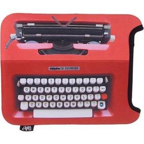Capa Case iPad Neopreme Tablet Máquina De Escrever Uatt