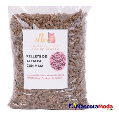 Imagen 1 de 1 de Pellets De Alfalfa Y Maiz Para Hamster Y Conejos