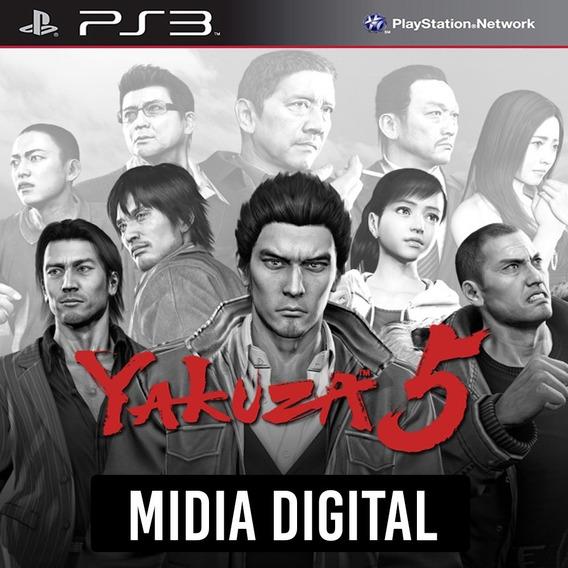 Ps3 - Yakuza 5
