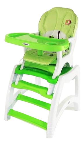 Silla De Comer Y Escritorio Bebesit Kinder Verde