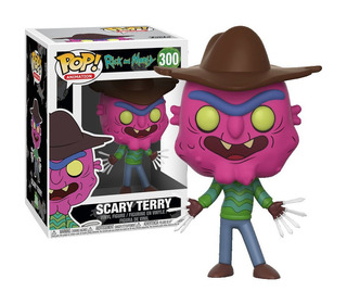 Funko Pop Scary Terry #300 De Rick And Morty Regalosleon
