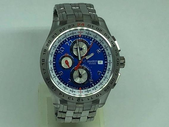 Relógio Swatch Chrono Automático - Modelo Blunge