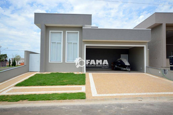 ( Casa Modelo ) Casa Com 3 Dormitórios À Venda, 190 M² Por R$ 1.100.000 - Residencial Villa Bella Siena - Paulínia/sp - Ca2069