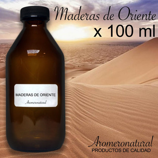 Esencia Maderas De Oriente X 100ml Aceite Aromaterapia Relax