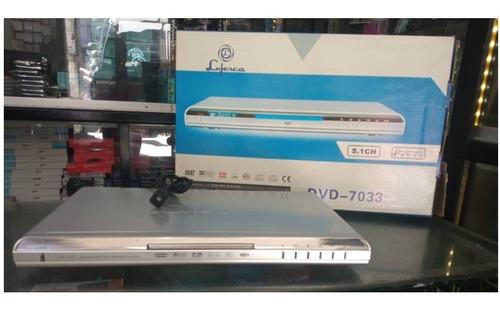 Reproductor De Dvd Luferca Dvd-7033 Control Remoto Cable Rca