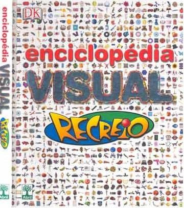 Enciclopédia Visual Recreio 1ª Edição. Completo
