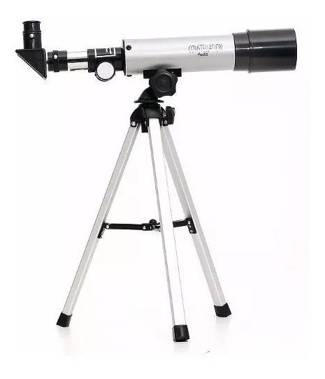 Telescópio Refrator Terrestre E Lunar 90 X Zoom