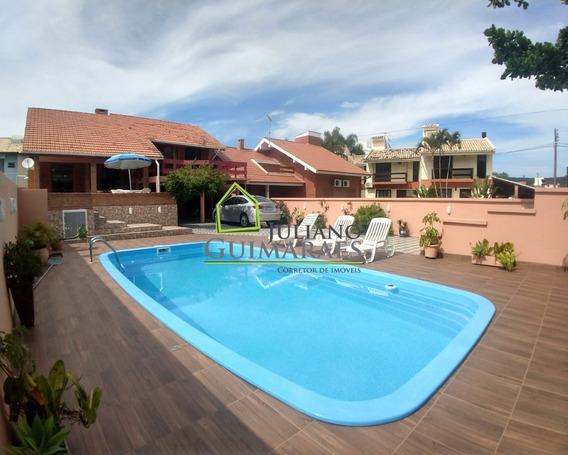 Aluguel De Temporada, Ótima Casa Com Piscina, 300 Metros Da Praia Dos Ingleses, Florianópolis Sc - Ca00145 - 33471611