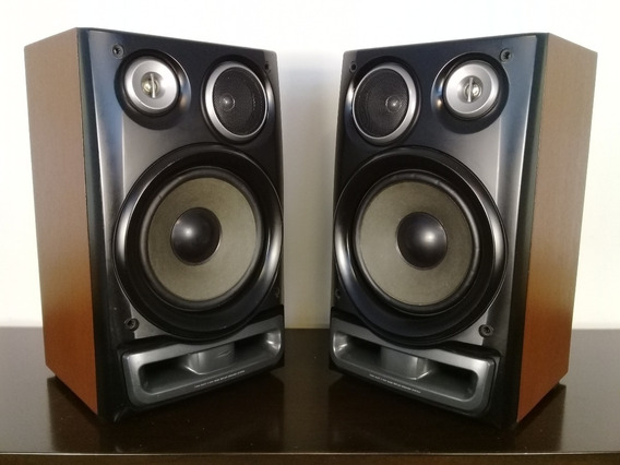 Caixas Acústicas Aiwa Sx-z290yl 120 Watts 6 Ohms 8 Polegadas