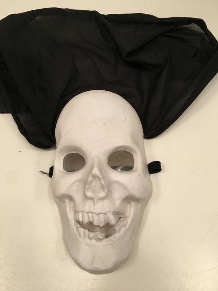Máscara De Terror Calavera Con Ojos 3d Disfraz Halloween