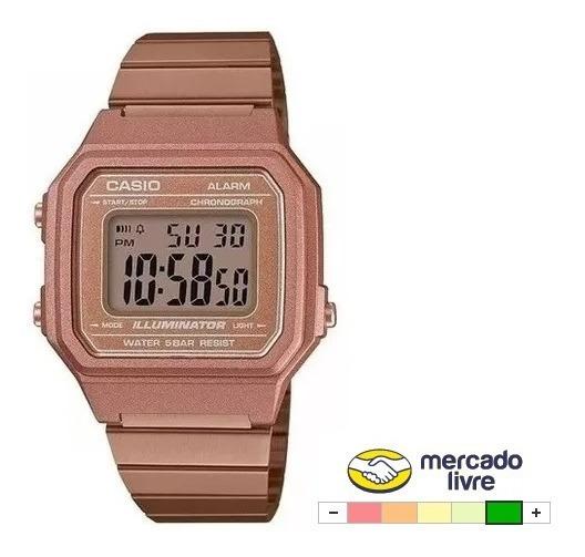 Relógio Casio Digital Envio Imediato Vintage B650 Rose