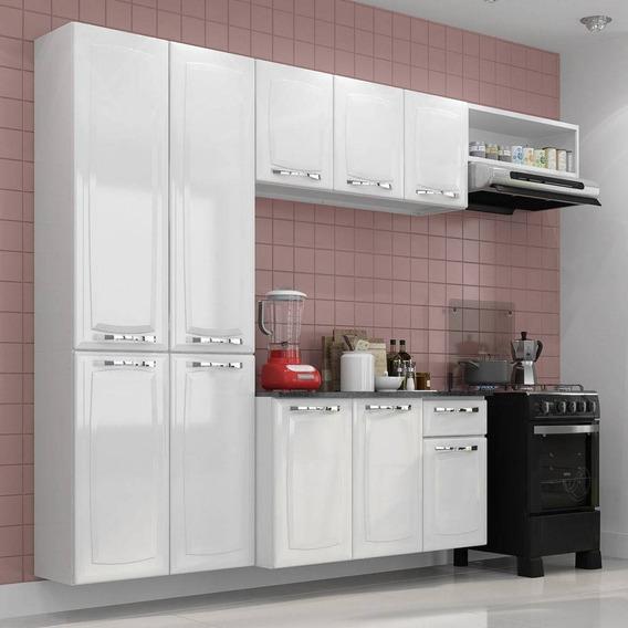 Conjunto Cozinha Itatiaia Amanda 4 Peças Branco