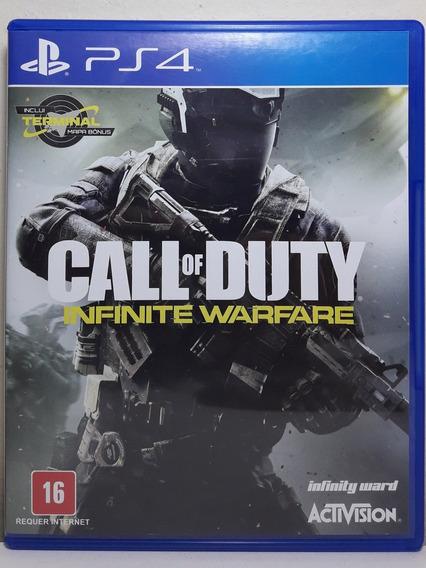 Jogo De Ps4 Call Of Duty Infinite Warfare Em Mídia Física