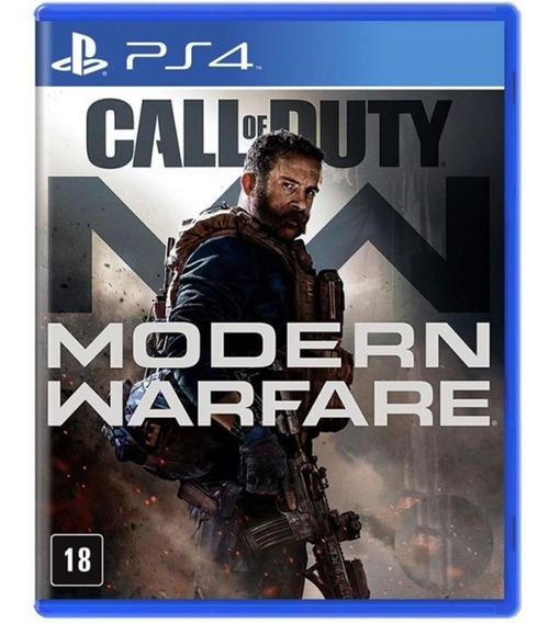 Call Of Duty Modern Warfare Ps4 Lacrado Mídia Física Pt-br