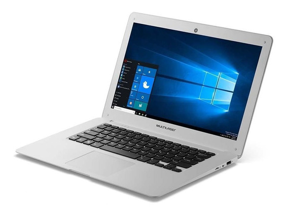 Notebook Legacy Intel Quadcore Hd 14 2gb  Branco Multilaser