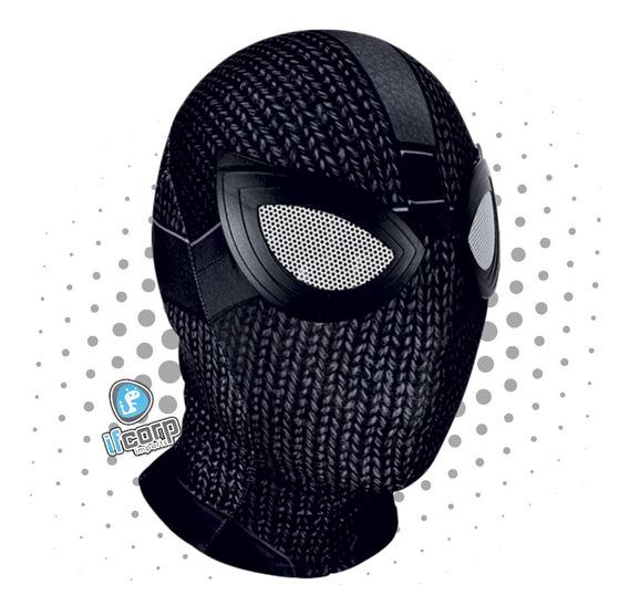 Máscara Cosplay Licra Spiderman Far From Home Adulto Sigilo